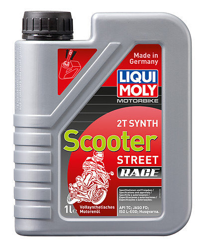 Liqui Moly 1053, Motorbike 2T Synth. Scooter Race, 1 l