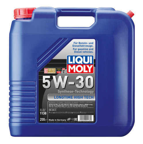 Liqui Moly 1138, Longtime High Tech 5W-30, 20 l