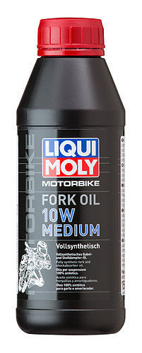 Liqui Moly 1506, Motorbike Fork Oil 10W medium, 500 ml