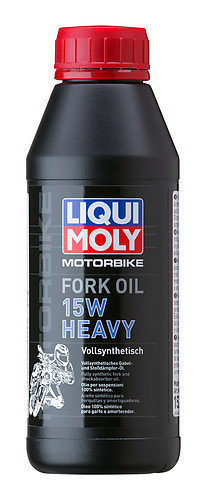 Liqui Moly 1524,  Motorbike Fork Oil 15W heavy, 500 ml