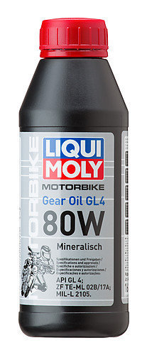 Liqui Moly 1617, Motorbike Gear Oil 80W, 500 ml