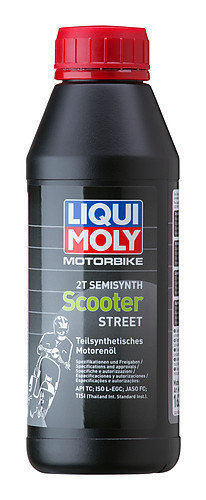 Liqui Moly 1622, Motorbike 2T Semisynth Scooter, 500 ml