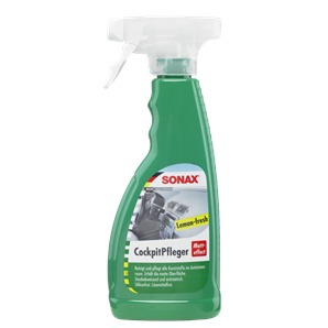 SONAX 358241 Cockpit Pfleger Matteffect Green Lemon, 500ml