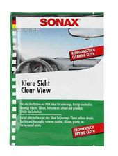 SONAX 374000 Klare Sicht Doppeltuch im Display, 10ml